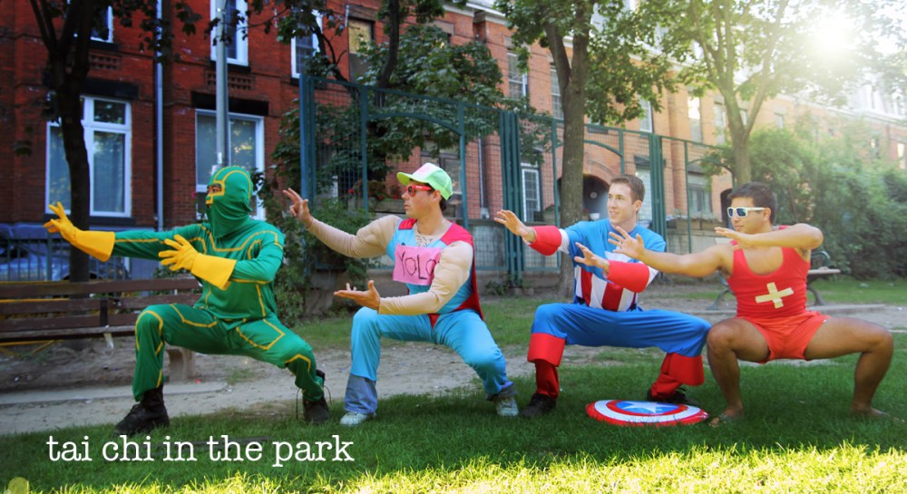 Super heroes themed scavenger hunt
