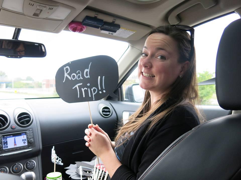 Road trip photo props