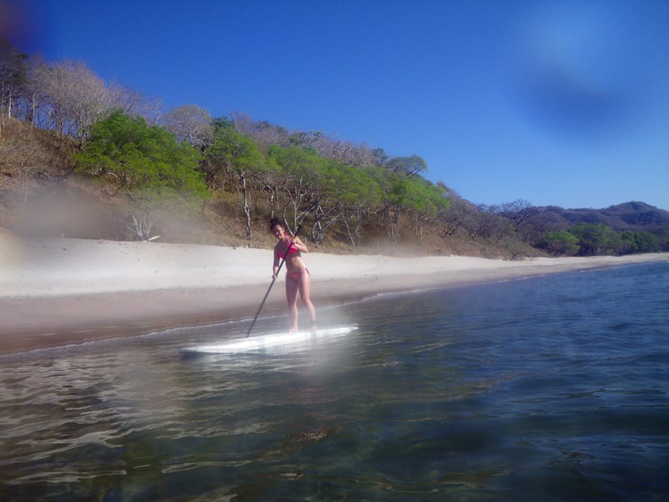 paddle boarding costa rica