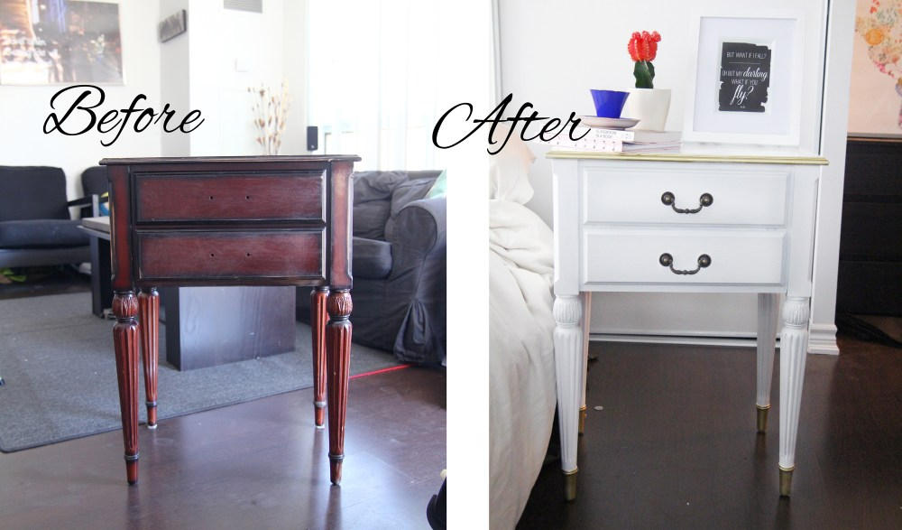 laminate furniture before and after