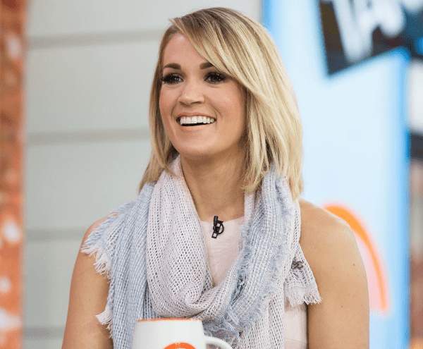 Image result for carrie underwood scarf photo