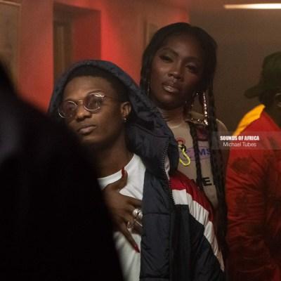 DJ Spinall, Tiwa Savage, Wizkid