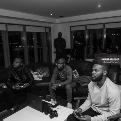 Falz and his team