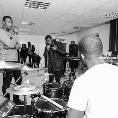 Rapper Olamide, Producer Pheelz and Compozers