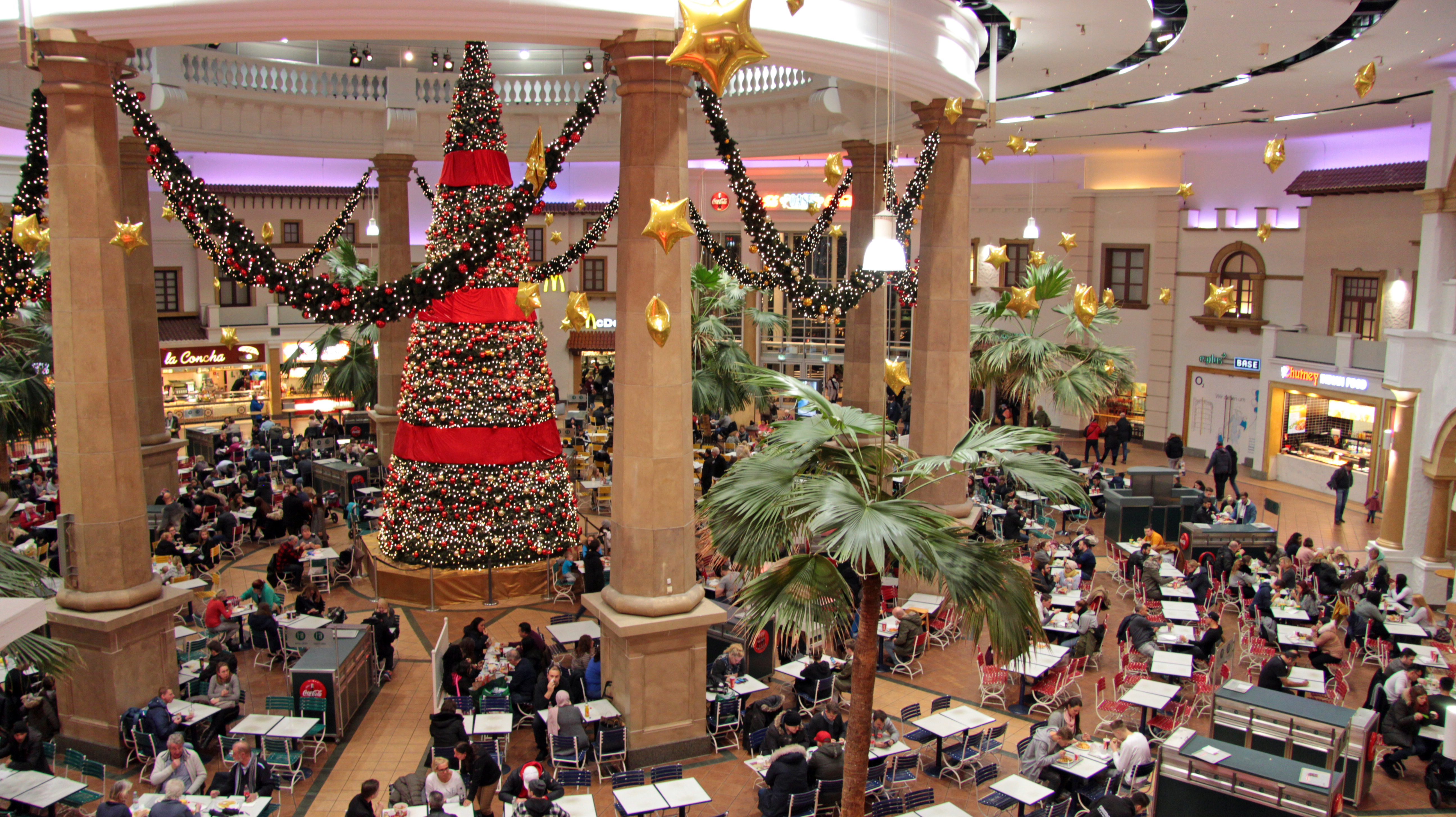 Centro Oberhausen At Christmas Time Iii Soundscape Food