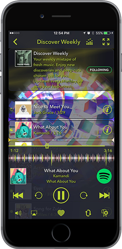 Tunr -- All-in-One Visual Music Player by SoundSpectrum