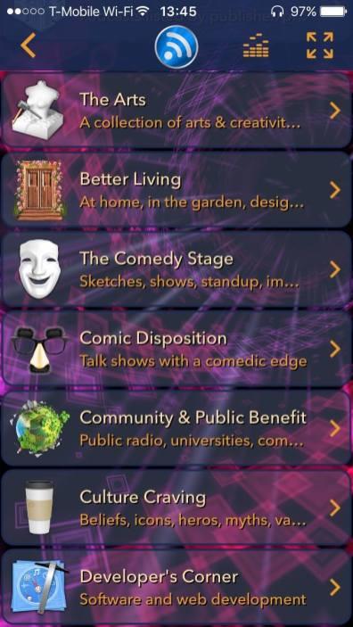 tunr podcast catalog best free podcast app
