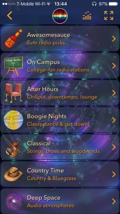tunr radio catalog best free radio