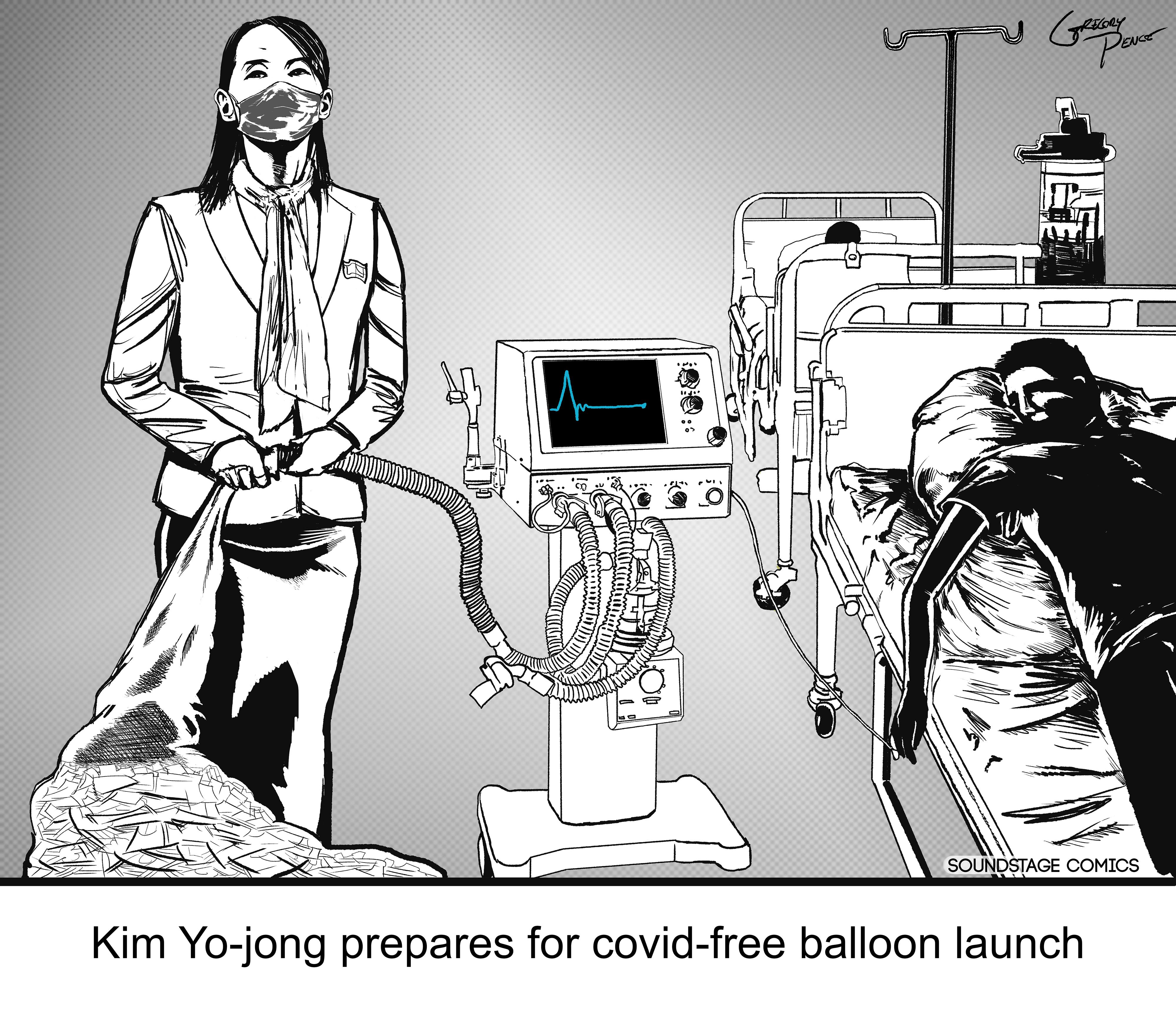 Kim Yo Jong, Coronavirus, North Korea, balloons