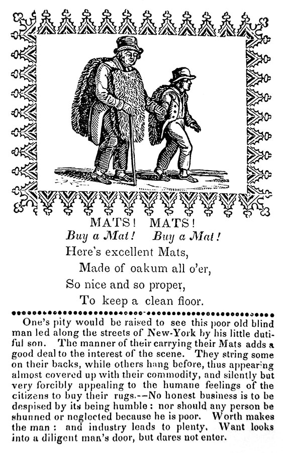 The New-York Cries, in Rhyme (c. 1825): Part 1