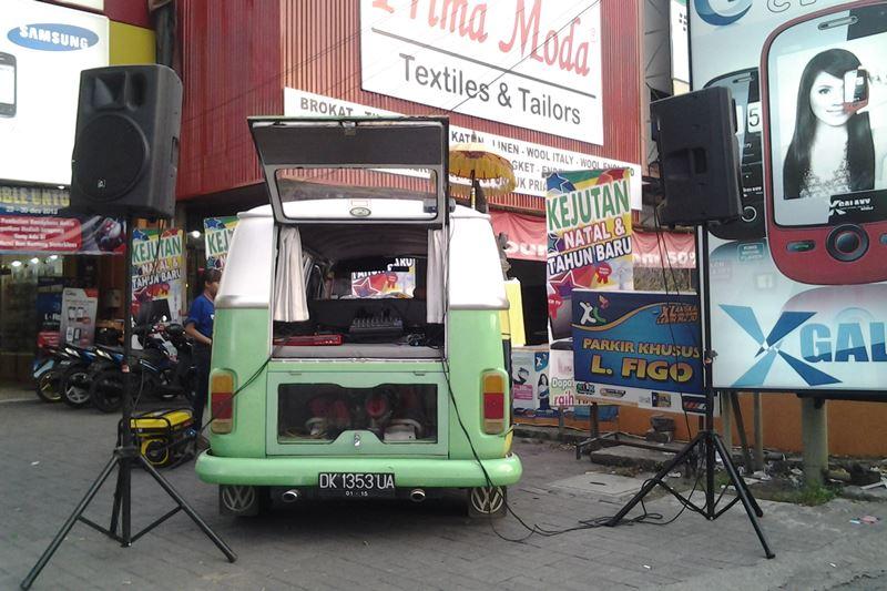 Sound System Promosi Outdoor di Bali
