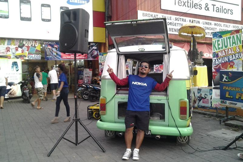 Sewa Sound System di Bali 2 Speaker Active