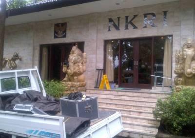 Sound System Di Bali Loading Venue