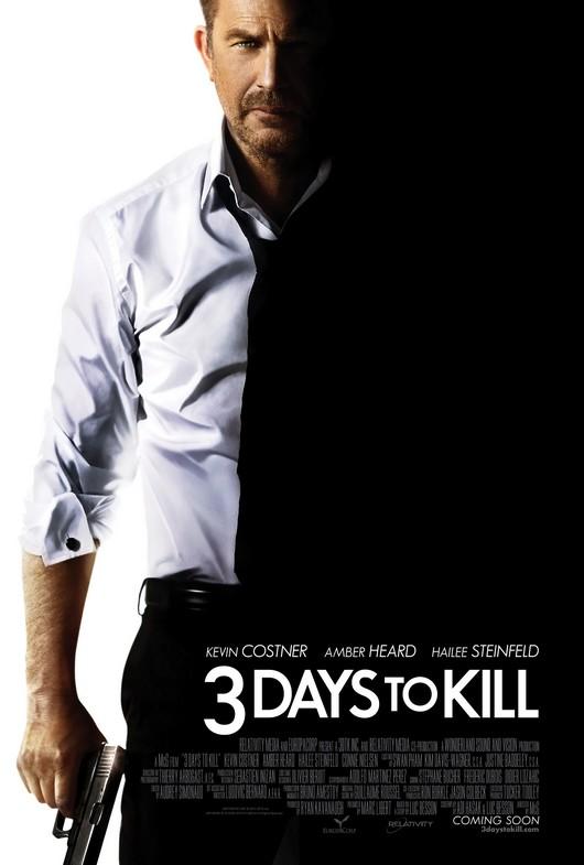 3 Days to Kill movie poster