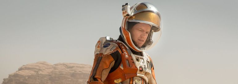 movie poster The Martian