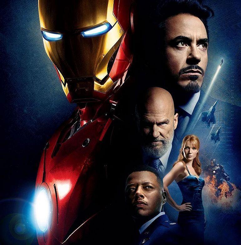 Iron Man movie poster