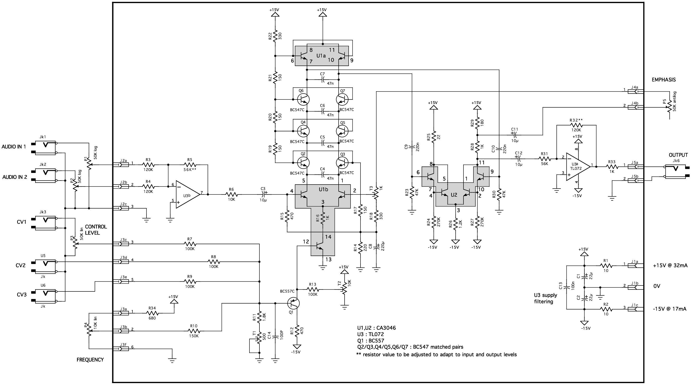 small resolution of  yusynth minimoog vcf schematic