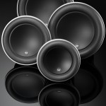JL Audio Woofer:  W7_Group_Cone_View2_BLK
