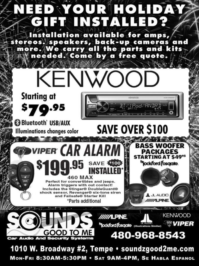 New Year's Sale at Sounds Good To Me in Tempe Arizona