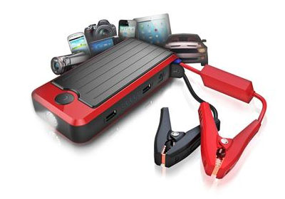 Powerall All-in-One Portable Power Bank, Battery Jump Starter, Bright LED Flashlight available at Sounds Good To Me in Tempe, Arizona