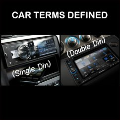 2005 Toyota Corolla Car Stereo Wiring Diagram Waterfall Model Audio Terms Defined What Does Din Double And Loc Mean