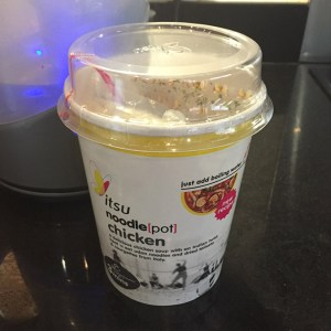 Istu Chicken Pot Noodle unopened