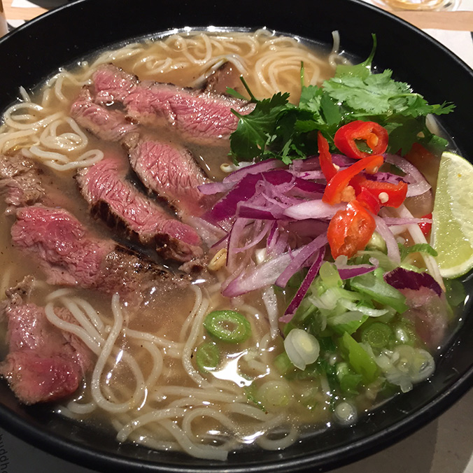 Chilli Sirloin Steak Ramen