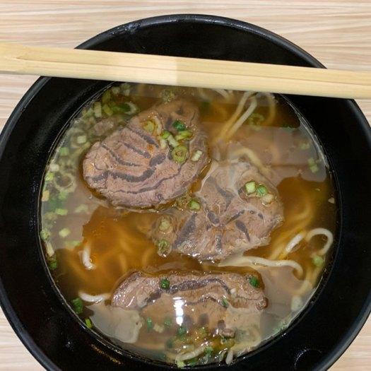 Hong Kong Airport Beef noodle soup