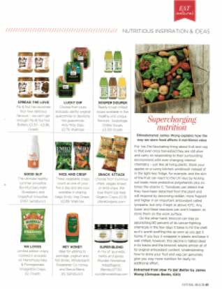 Natural Health Magazine Soupologie Chilled
