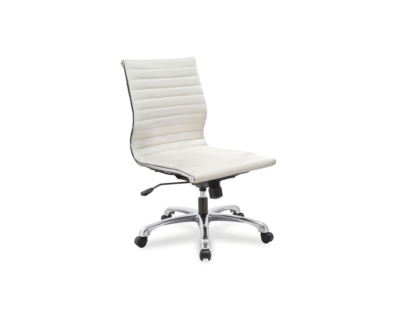 leather office chairs without arms swing chair verandah nova mid back