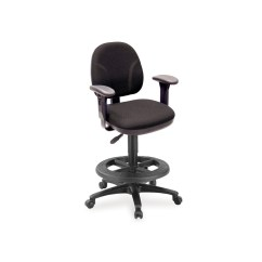 Drafting Chairs With Arms Living Room Uk Comformatic Chair