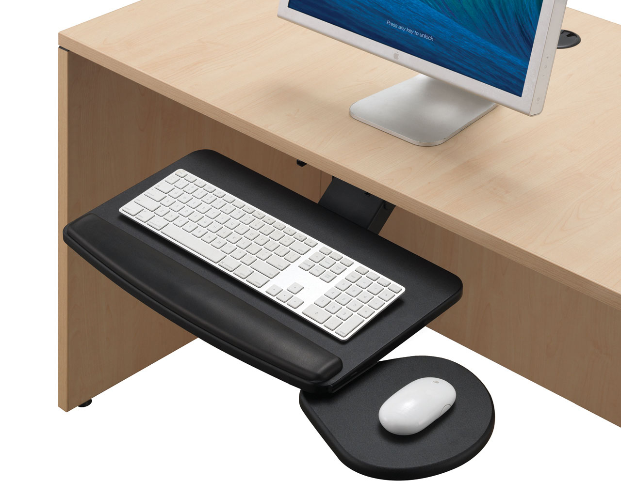 chair mount keyboard tray canada office mat 45 x 53 furniture accessories source