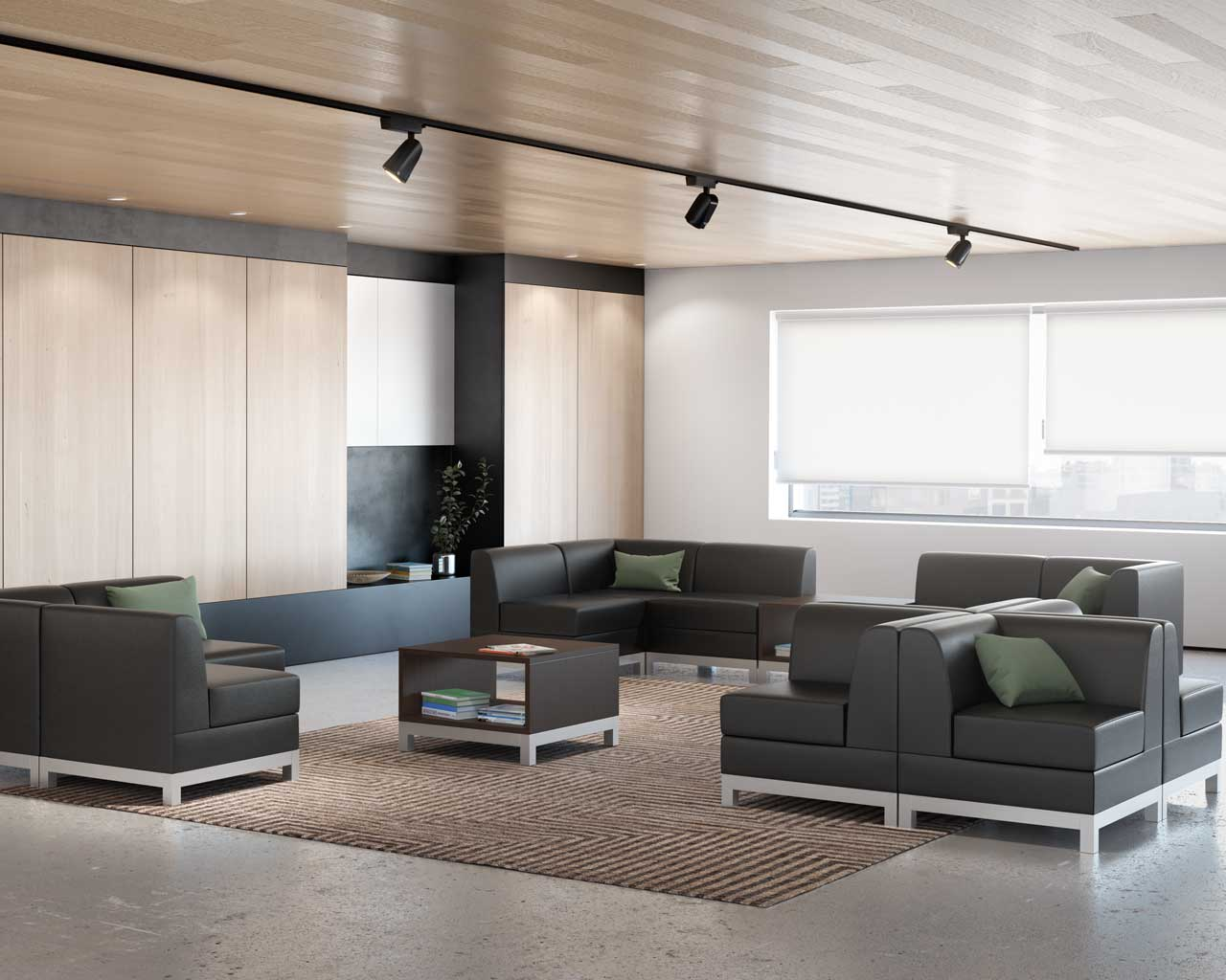 Compose Modular Reception Seating