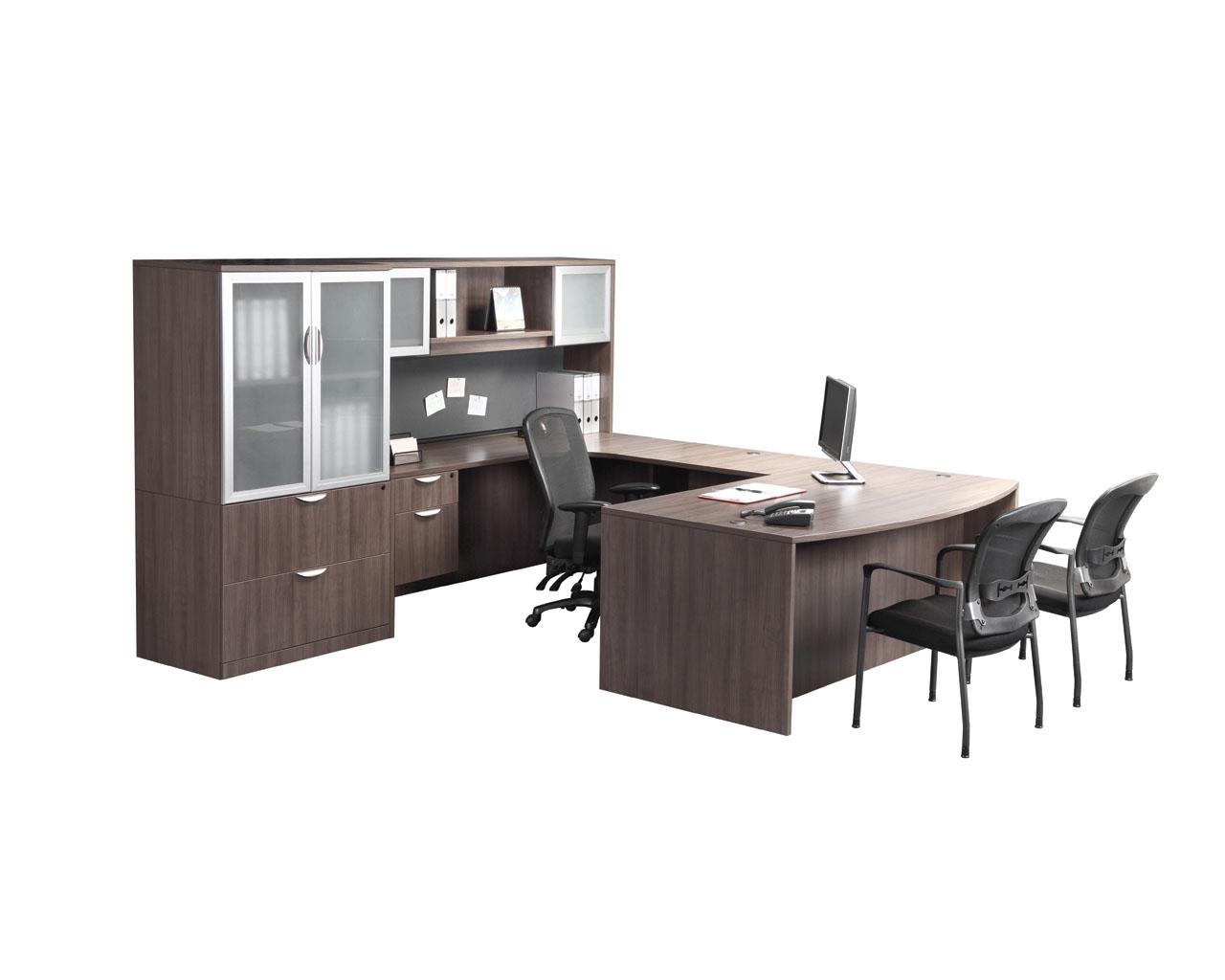 Classic 71 Executive Bowfront Desk with Radius Corner