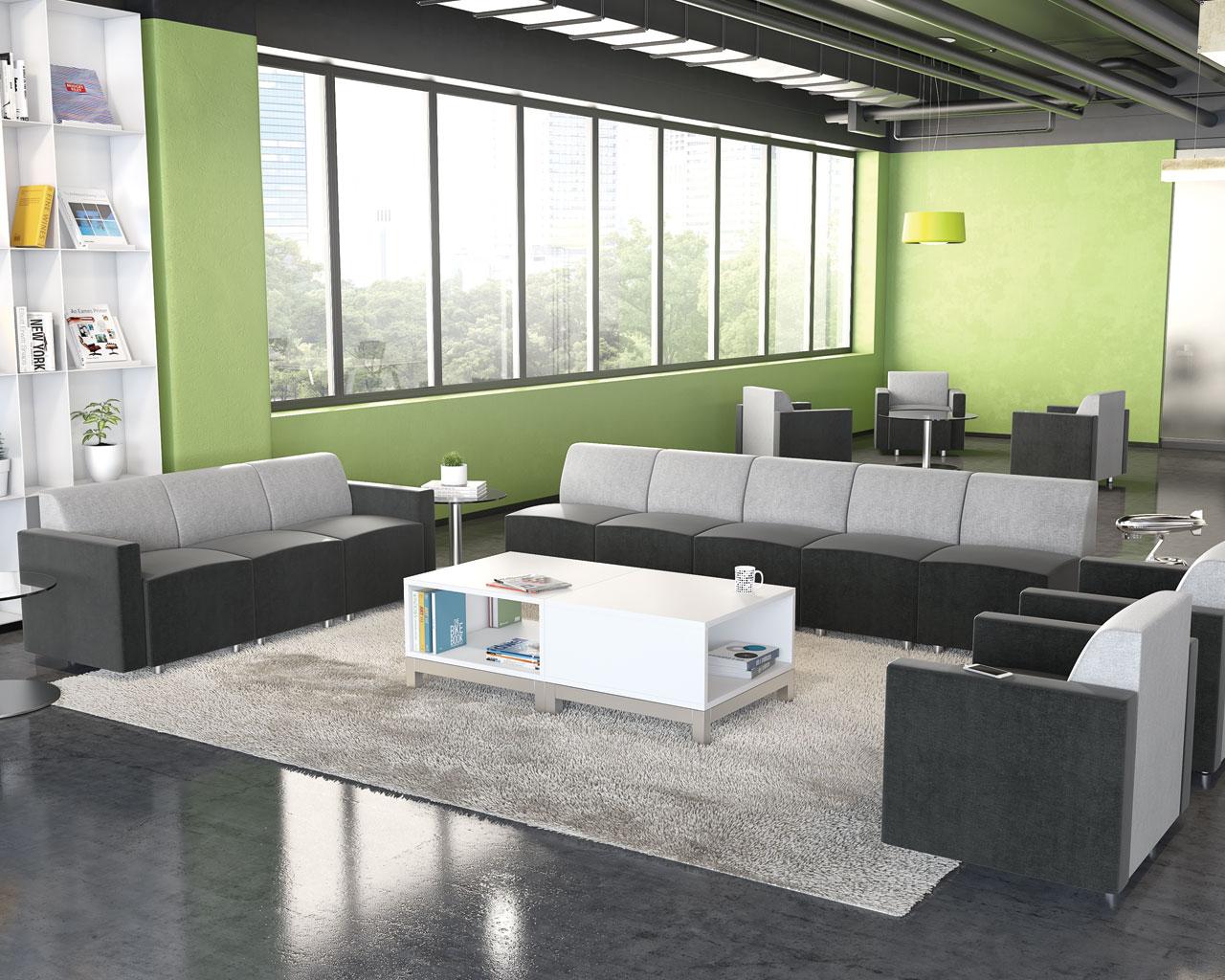 Brighton Modular Reception Seating  Source Office Furniture