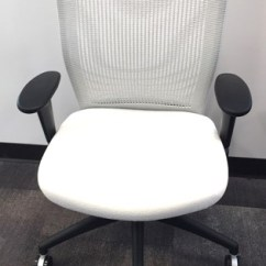 Office Chair Kelowna Argos Toddler Seat C Rite Source Furniture Ergonomic Mesh Backed Chairs With Synchro Tilt Mechanism Contoured Cushion And Mechanical Height Adjustable Lumbar Support In White