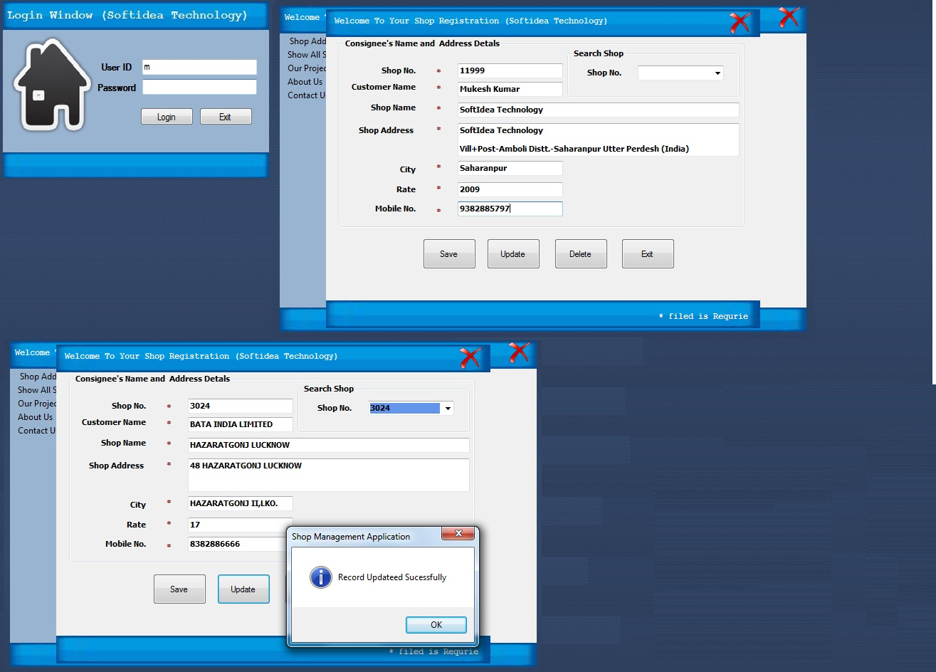 Save Update Delete Record In VB Net Free Source Code