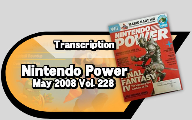 Nintendo Power May 2008 Vol 228