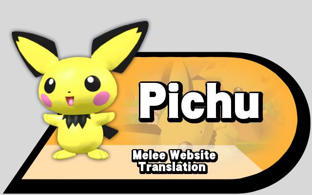 Translation Pichu melee