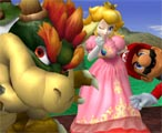 A photo with Mario and Bowser.