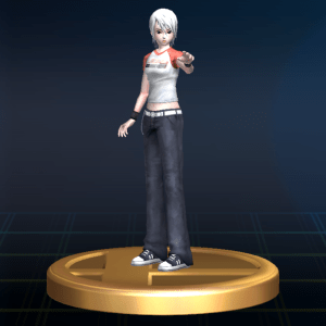Although based on her DS appearance, Ashley did have a 3D model thanks to Another Code R