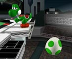 Egg Lay. Be careful of Yoshi if he's standing near the edge! Characters with fast fall speeds will lose their stock quicker.