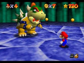 Super Mario 64 was released a year before to amazing success.