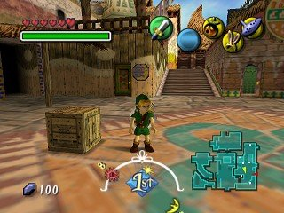 Majora's Mask was actually the 4th game to star a young Link over an older Link.
