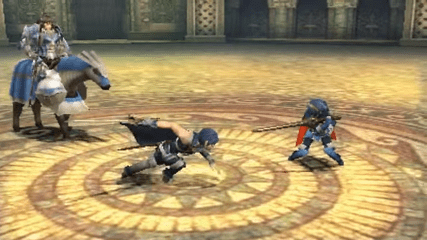 Arena Ferox seen in Fire Emblem: Awakening during an in-game combat scene.