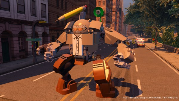 Stan Lee's Stanbuster in Lego Marvel Avengers