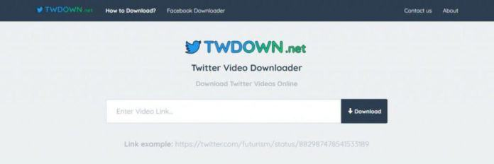 TwDown downloader
