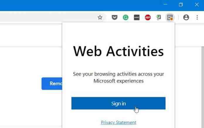 web activities tool