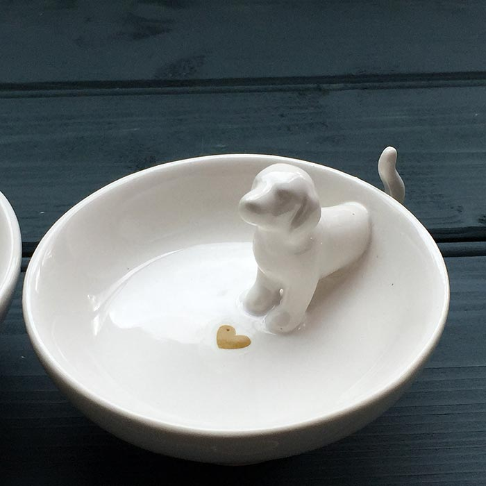 Cat Trinket Dish by Twos Company  Buy 750 Online UK