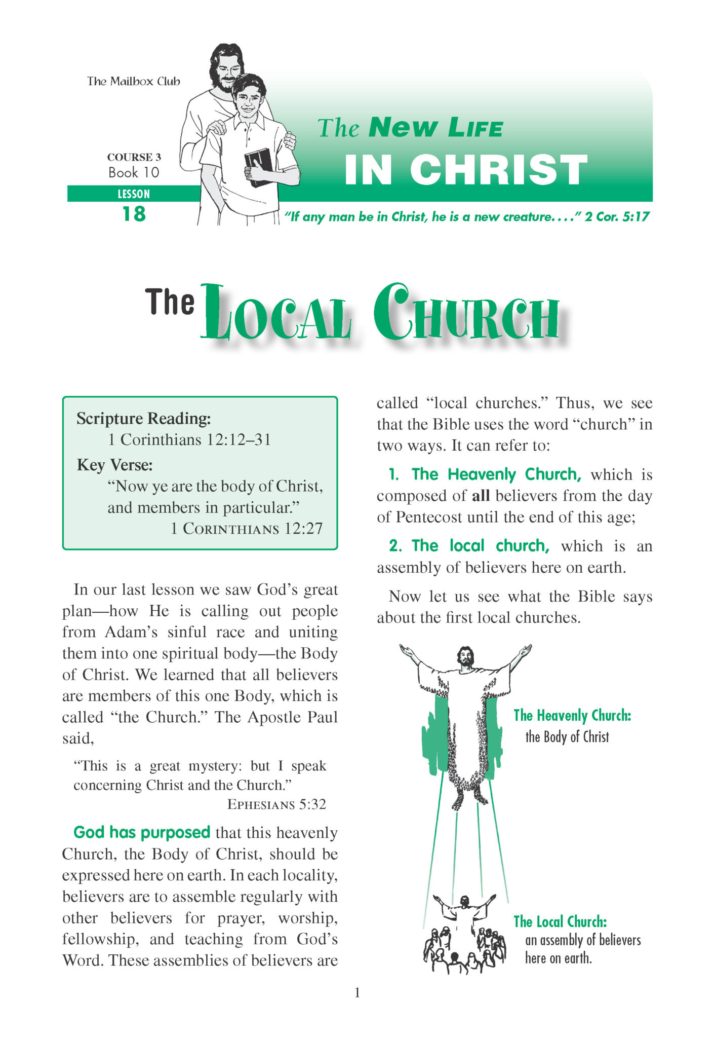 Lessons 18 Amp 19 The Local Church The Great Commission
